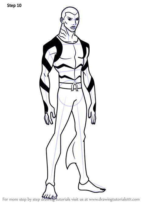 learn   draw aqualad  young justice young