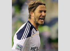 Individual Match Highlights David Beckham LA Galaxy vs