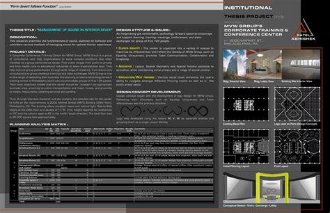 interior architecture design portfolio sample