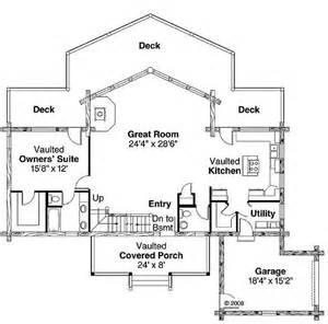 2 5 bedroom house plans plan 035 00427 2 bedroom 2 5 bath log home plan