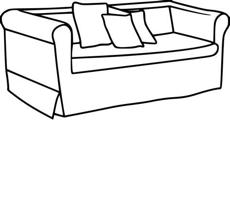 canapé gratuit coloriage canapé et dessin à imprimer