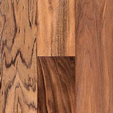 exotic wood floor and decor