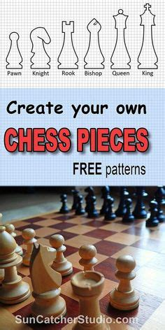 scroll  chess pieces woodworking projects plans