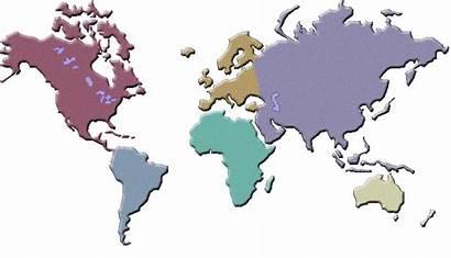 Map Kontinenti Svijeta Tariff Znanje Knjige Animacije