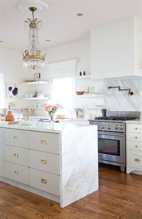 beautiful glam kitchen design ideas   digsdigs