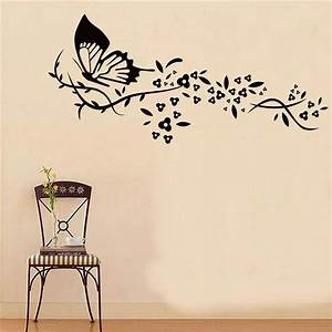 wall decal good look butterfly wall decals walmart With good look family wall decals walmart