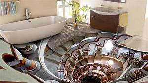3D Bathroom Floor Designs That Will Mess With Your Mind ᴴᴰ ...
