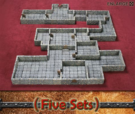 3d dungeon tiles dwarven forge dwarven forge tiles affordable adventuring technabob