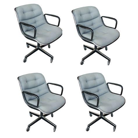 knoll pollock chair replica 4 vintage knoll pollock executive swivel arm chairs ebay