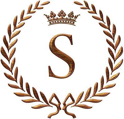 napoleon initial letter  monogram invitations monogram