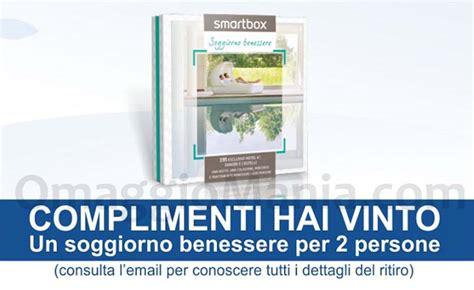soggiorno benessere smartbox vinci soggiorno benessere smartbox con coop omaggiomania