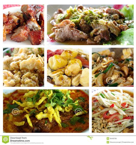cuisine free food collage royalty free stock photo image 30433795
