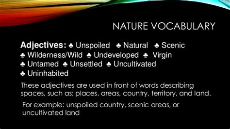 Talking Naturally About Nature, Lesson 2 Of Misused And