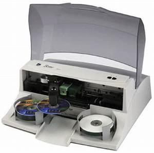 primera bravo cd duplicator label printer With disk label printer