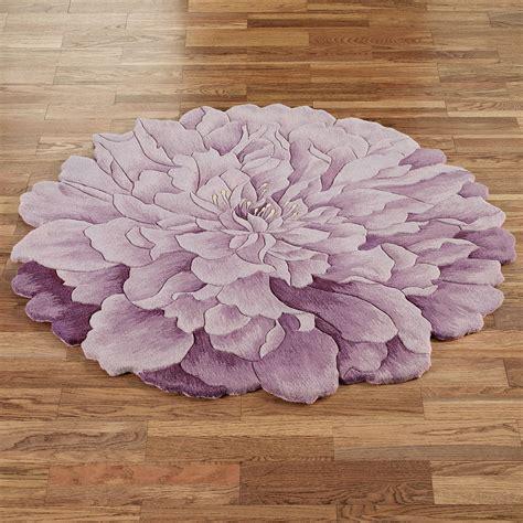 delia bloom flower shaped  rugs