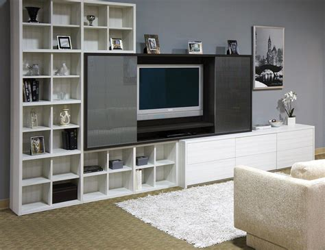 open bookcase white built in entertainment centers media cabinets