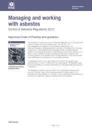 managing  working  asbestos control  asbestos