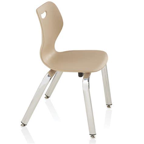 ki intellect wave 4 leg stack chair 15 quot h iw415