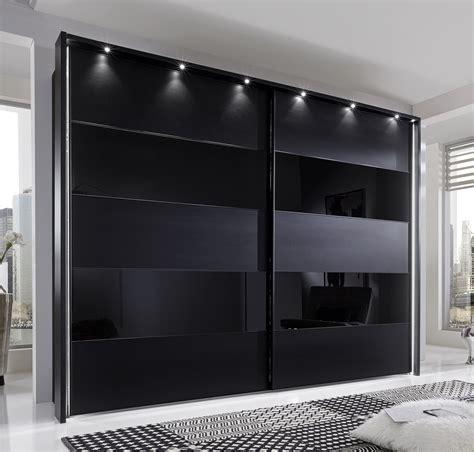 storage chest furniture phoebe by stylform black matt glass wardrobe head2bed uk