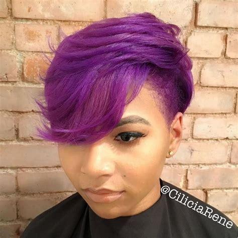 short haircuts  african american women  hair style