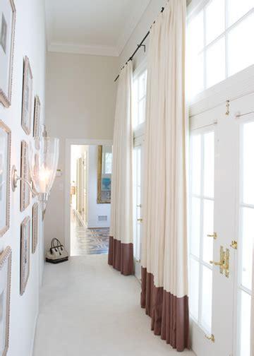 floor length windows floor length curtains design ideas