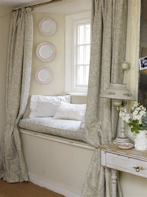 17 best ideas about window seat curtains on