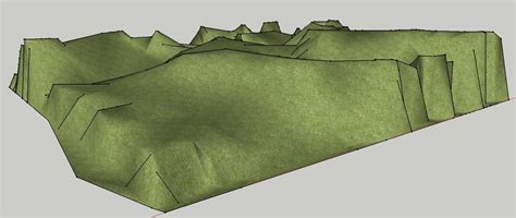 sketchup tutorials creating a topography mesh from flat contours in sketchup tutorial