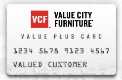 value city furniture credit card payment login and