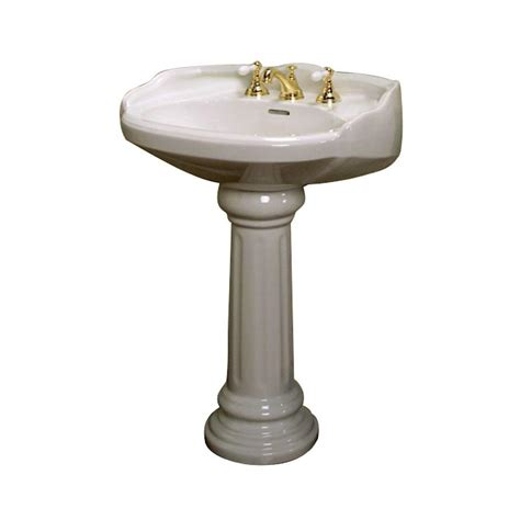 pegasus victoria 26 in pedestal combo bathroom sink for 8
