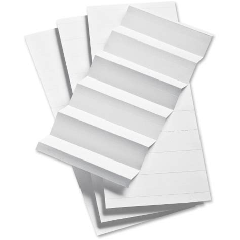 Pendaflex Template by Pendaflex 1 3 Cut Hanging File Folder Label Inserts