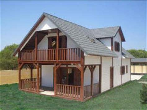 bungalow en bois mobile home et chalets en bois pr 233 fabriqu 233 s