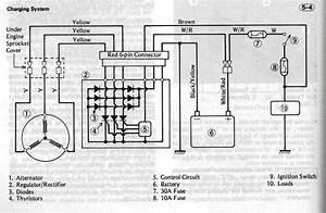Charging System On My  U0026 39 82 Kz1100 A2 - Kzrider Forum