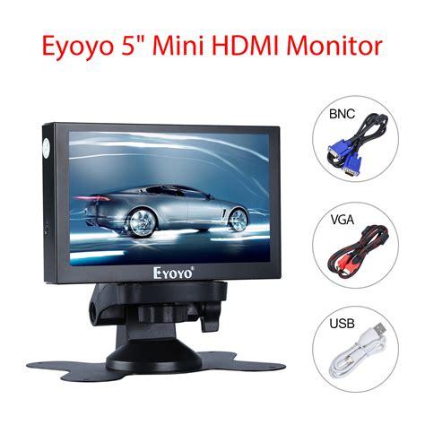 mini hdmi display aliexpress buy eyoyo 5 inch mini hdmi monitor