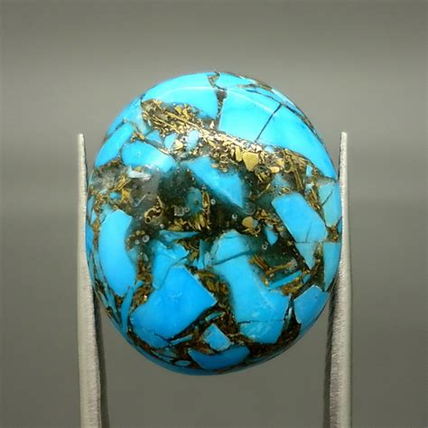 batu mustika bertuah pirus urat emas persia dunia pusaka