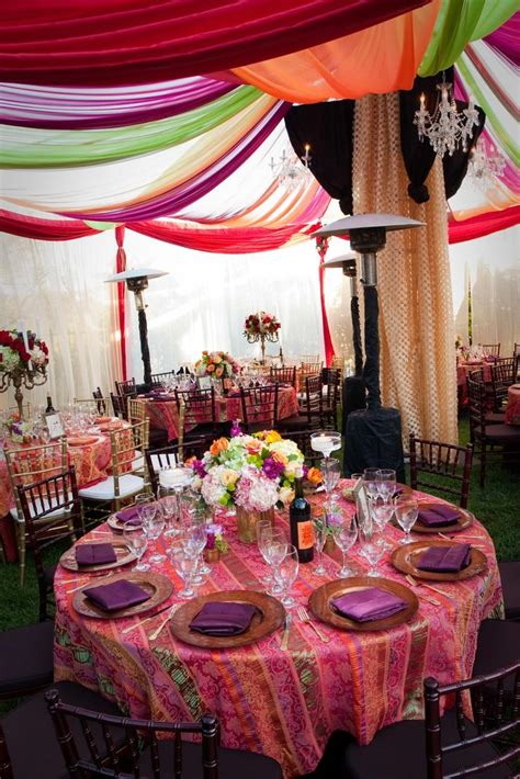 Moroccan Themed Wedding Weddbook
