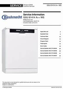 This Is The Exact Same Bauknecht Gsu 81414 A   Ws