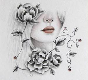 pencil drawing - Other & Abstract Background Wallpapers on ...