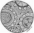 Summer Art Challenge – Zentangle! | Zentangle patterns ...