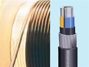 High Voltage And Low Voltage Power Cables In Electrical Construction