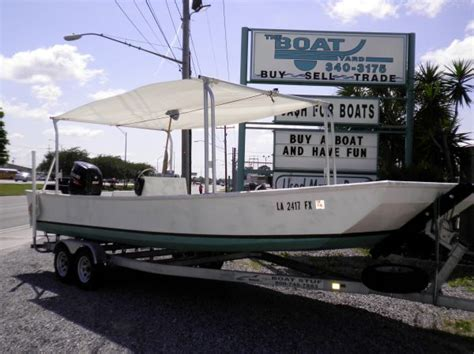 Boat Canopy Homemade by 2011 Homemade Skiffs For Sale In New Orleans Louisiana