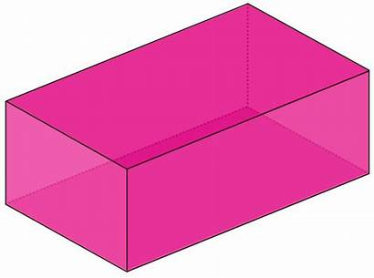 Rectangular Volume Prism Pink Prisms Geogebra Bonus
