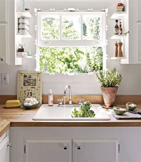 Small Plants For Kitchen Window by Best 25 Kitchen Window Shelves Ideas On