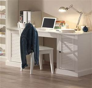 Landhaus Schreibtisch Weiß : neu landhaus b ro schreibtisch weiss lackiert pc tisch arbeitstisch b rom bel ebay ~ Markanthonyermac.com Haus und Dekorationen