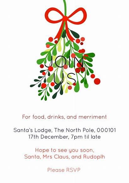 Christmas Party Invites Printable Editable Easy Giving