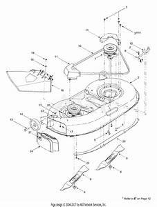 Mtd 13af698g131  2003  Parts Diagram For Deck Assembly  U0026quot G U0026quot