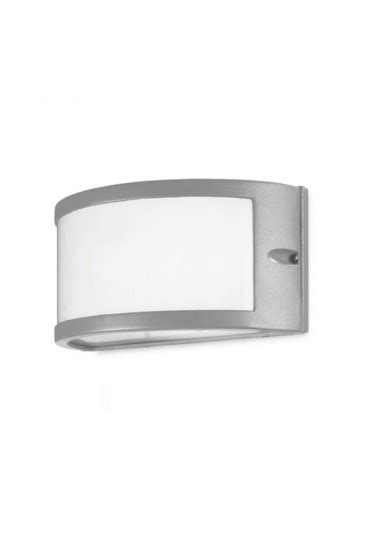 Applique Da Esterno A Led by Applique Da Esterno Grigio Ges140 Gea Led