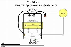 Wiring Diagrams For Leviton Bination Switch Gfci