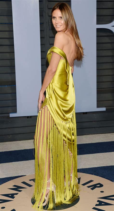 Heidi Klum Vanity Fair Oscar Party Beverly