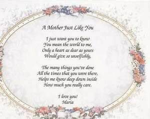 Personalized-Poem-A-Mother-Just-Like-You-Treasure-Gift ...
