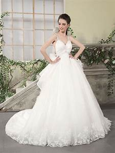 organza empire ball gown wedding dress with straps sang With organza ball gown wedding dress